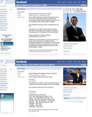 obama on facebook